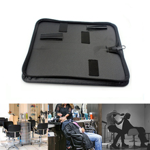 Black Waist Pack Practical Salon Case Hair Scissor Bag Solid Holder Pouch Barber Professional PU Leather Hairdressing Tools fura scissor pouch