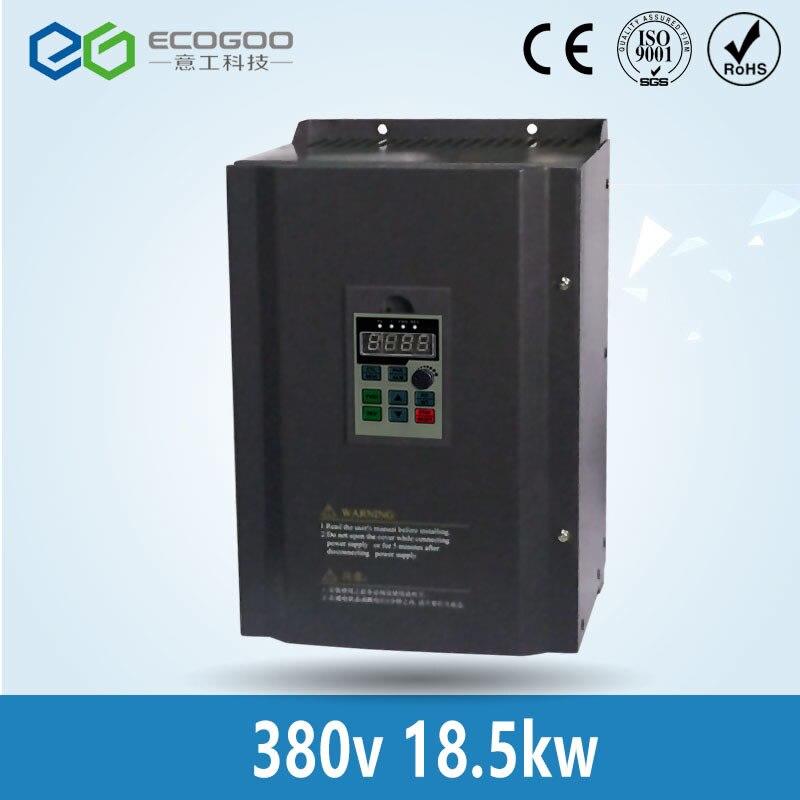 цена на 18.5KW/3 Phase 380V/37A 25HP Frequency Inverter-Free Shipping-Shenzhen EG vector control 18.5KW Frequency inverter