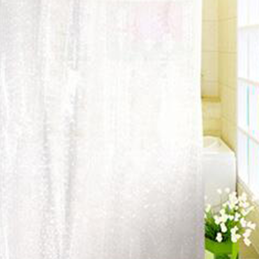 1 8 8m Moldproof Waterproof 3D Thickened Bathroom Bath Shower Curtain Eco  Friendly White Best Price In Curtains From Home Garden On