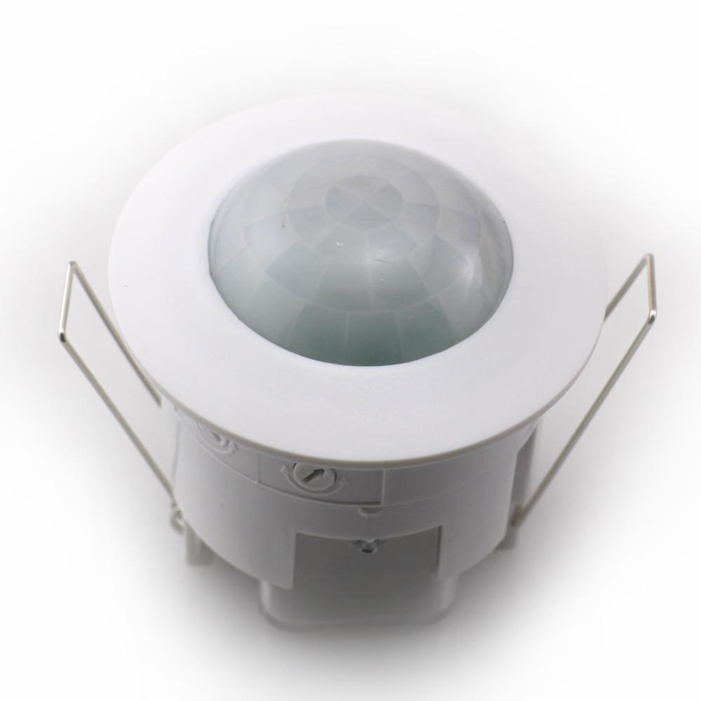 360Degree Microwave Radar Sensor Light Switch Time Setting PIR ...