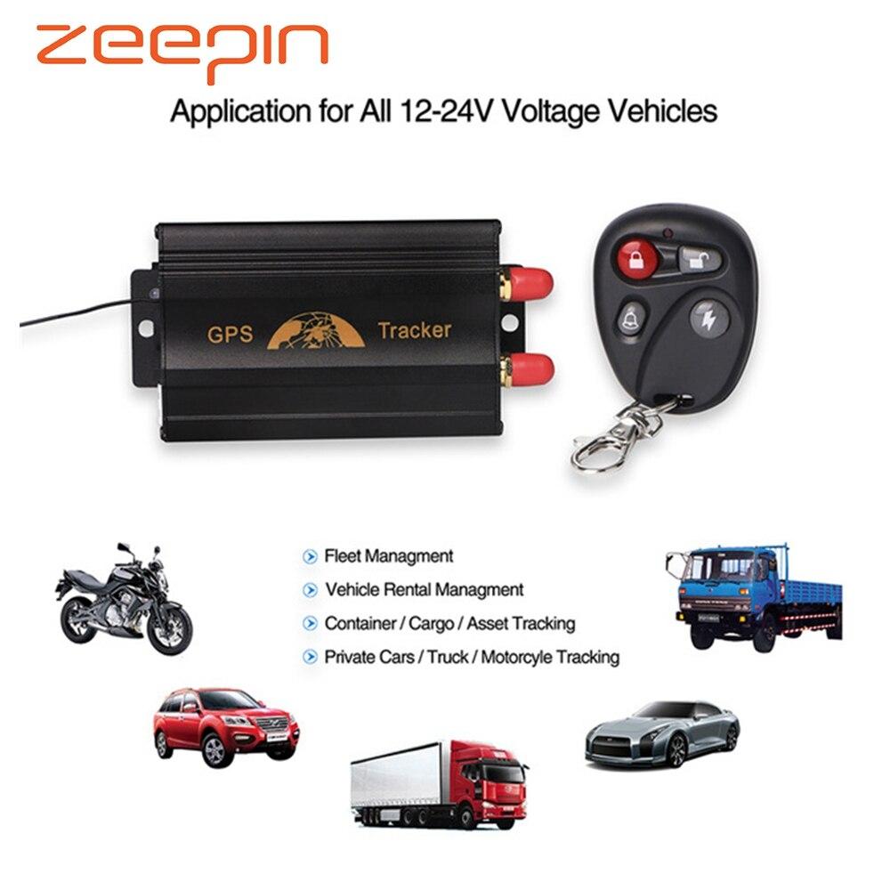 c1d74763e76e Cheap TK103B rastreador de GPS del coche de seguimiento en tiempo Real con  localizador de Control
