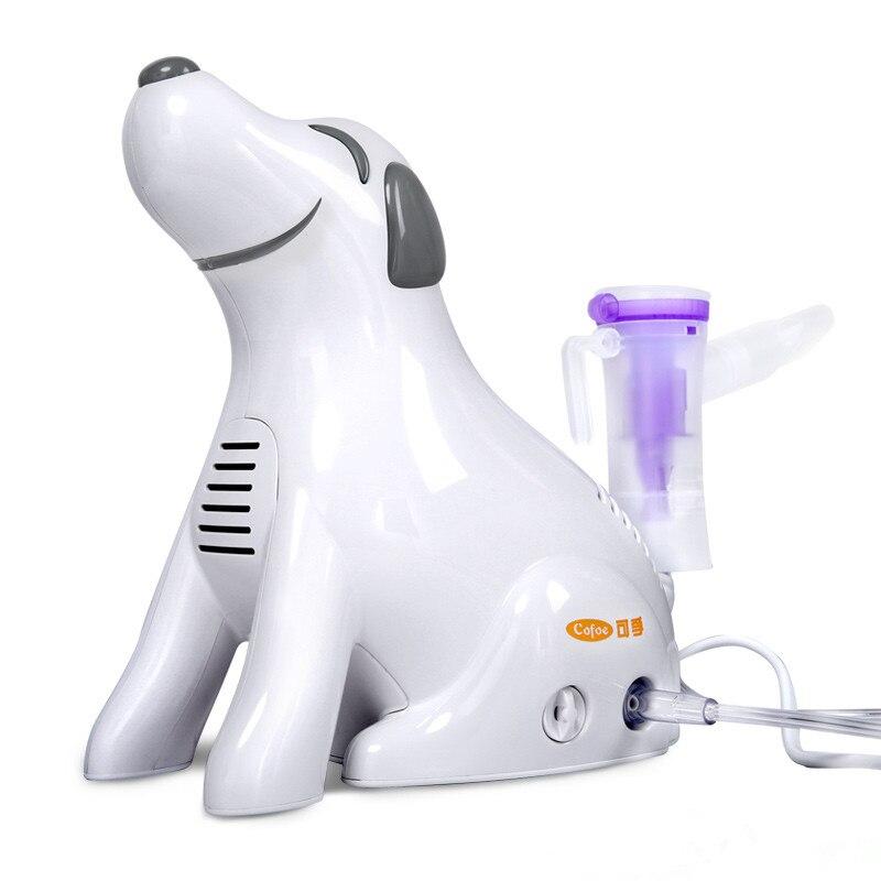 Cofoe nébuliseur médical ménage compresseur inhalateur chien type gorge pulvérisateur de compression de l'air atomiseur pour bébé enfant adultes