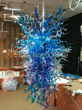 лучшая цена Free Shipping Hand Blown Glass Large Chandeliers