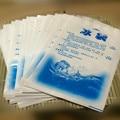 10 pçs/lote 400 ml engrossar Saco de Gelo Fresco Pacote de Gel Reutilizável de Alta Qualidade Fresco Frio Cooler Sacos Para Armazenamento De Alimentos, piquenique, Saco de gelo