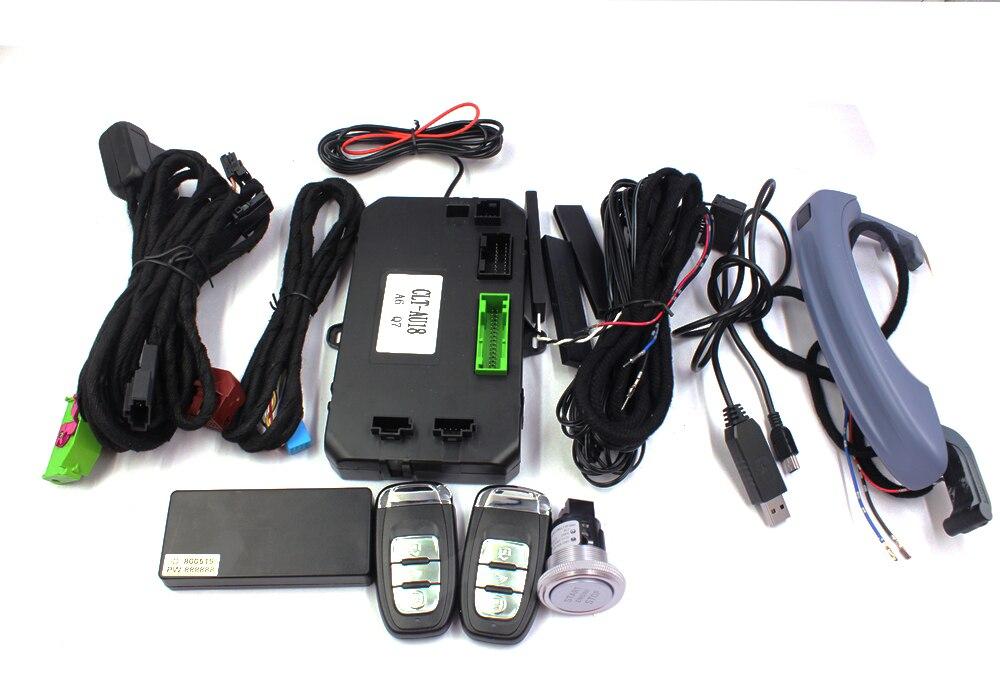 PLUSOBD удаленной машине начало Start Stop Системы Автозапуск и замки комфорт доступа иммобилайзер для Audi сигналы тревоги для Audi A6L 05 11