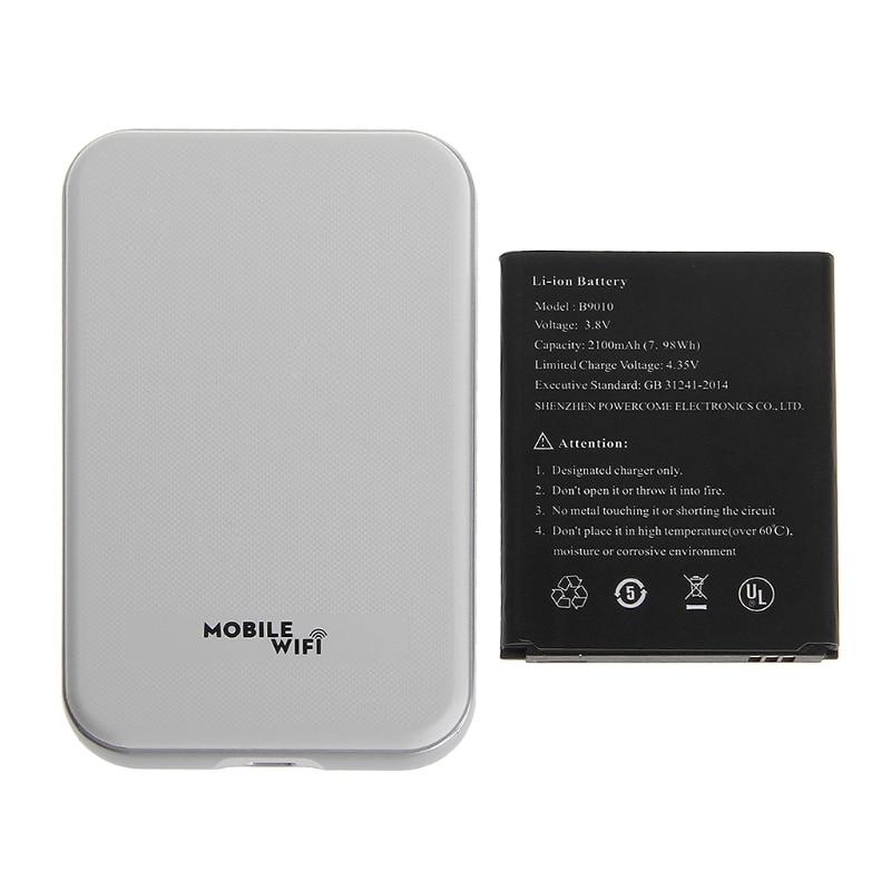 Sans fil routeur wifi 3G 4G Lte Hotspot Voiture routeur wifi Sim emplacement pour cartes MF825