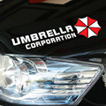 Universal Vinyl Car Stickers Resident Evil Umbrella Corporation For Head Lights Door Rear Windshield Auto Window Decals