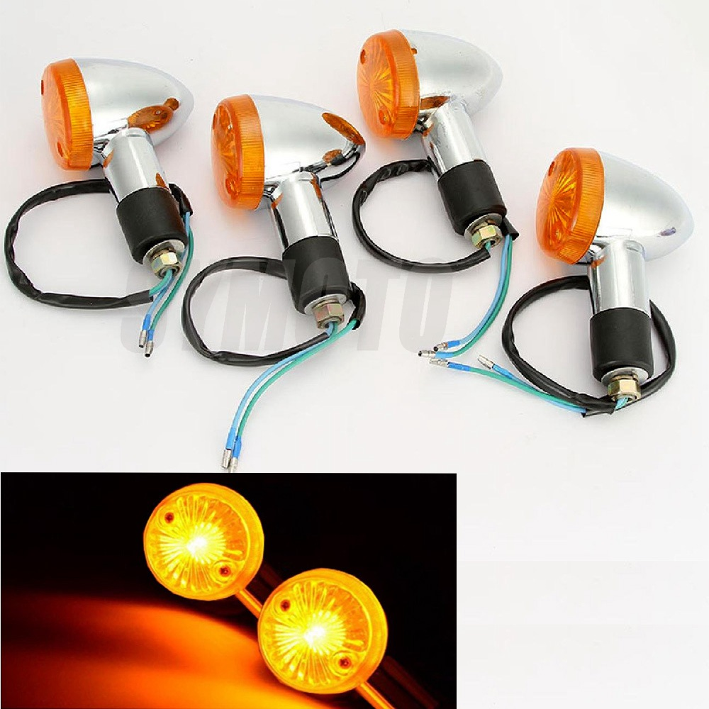 Turn Signal Motorcycle Light Indicator Blinker for Honda CB VTX GL1300 1800