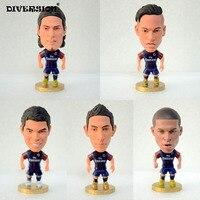 Soccer PSG FC Team 5pcs Set PSG 2018 2 5 Toy Doll Figurine Soccerwe Footballer Figure