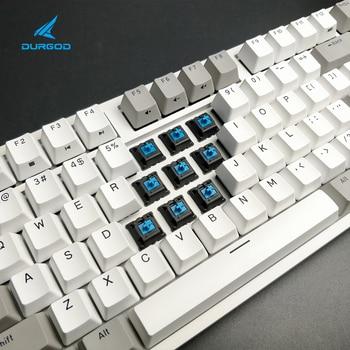 durgod 104 taurus k310 mechanical keyboard using cherry mx switches pbt doubleshot keycaps brown blue black red silver switch 5