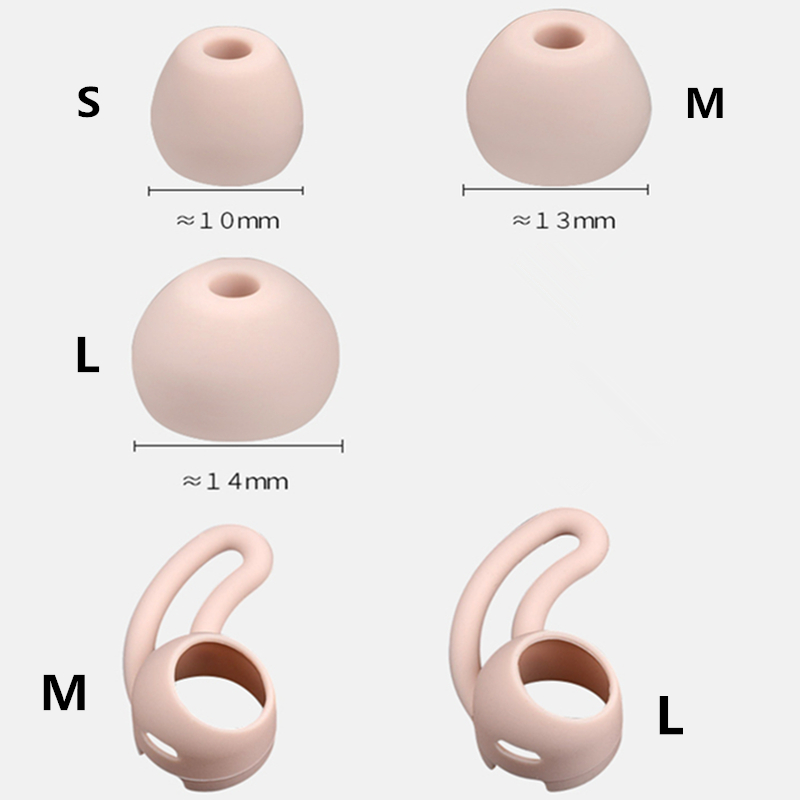 5Pairs Silicone Eartips Ear Bud Replacement Earplugs Set for Beats x Urbeats Tour Ibeats In ear Headphones Ear Wing in Earphone Accessories from Consumer Electronics
