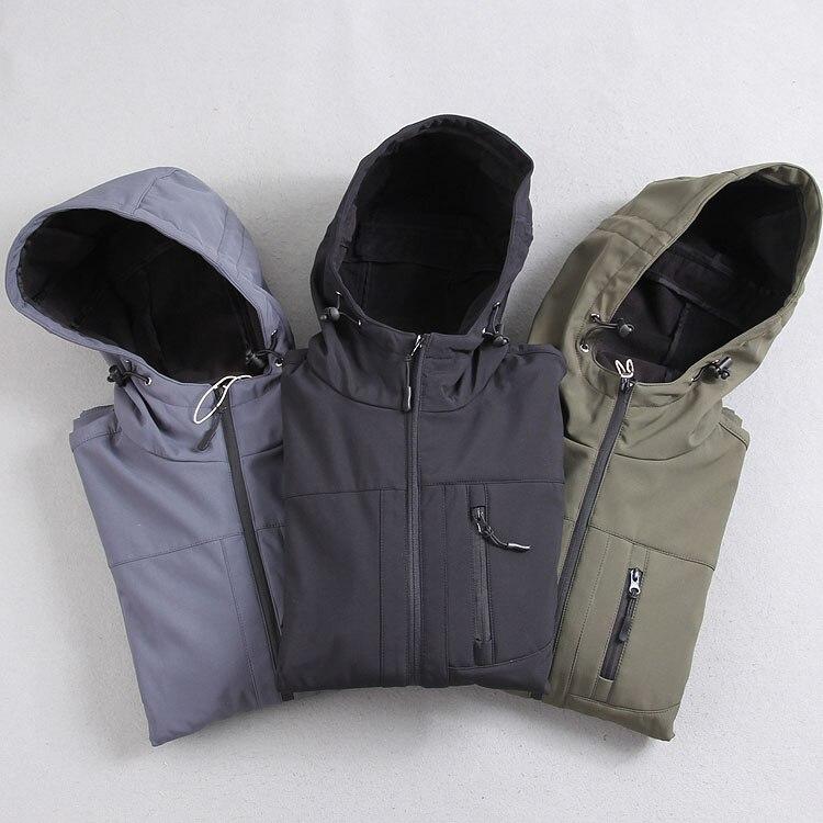 Nuevo hombre exterior senderismo chaqueta Softshell hombres impermeables transpi