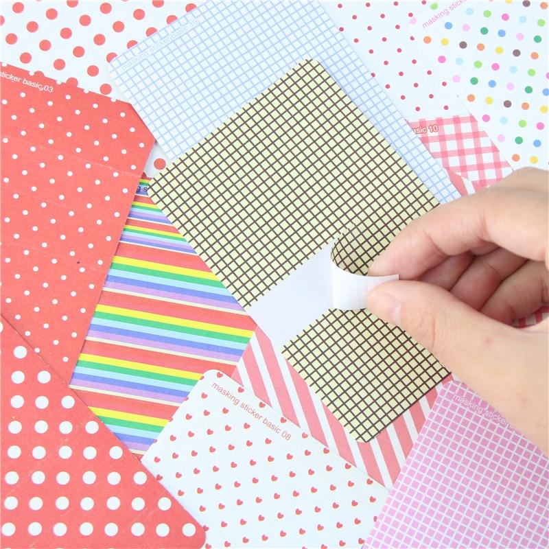 27Pcs Decorative Washi Masking Tape Craft Stickers Pack Labelling Scrapbo UKLL