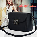 2016 NewFashion plum bucklebags handbags women famous brand designer messenger bag crossbody women clutch purse bolsas femininas