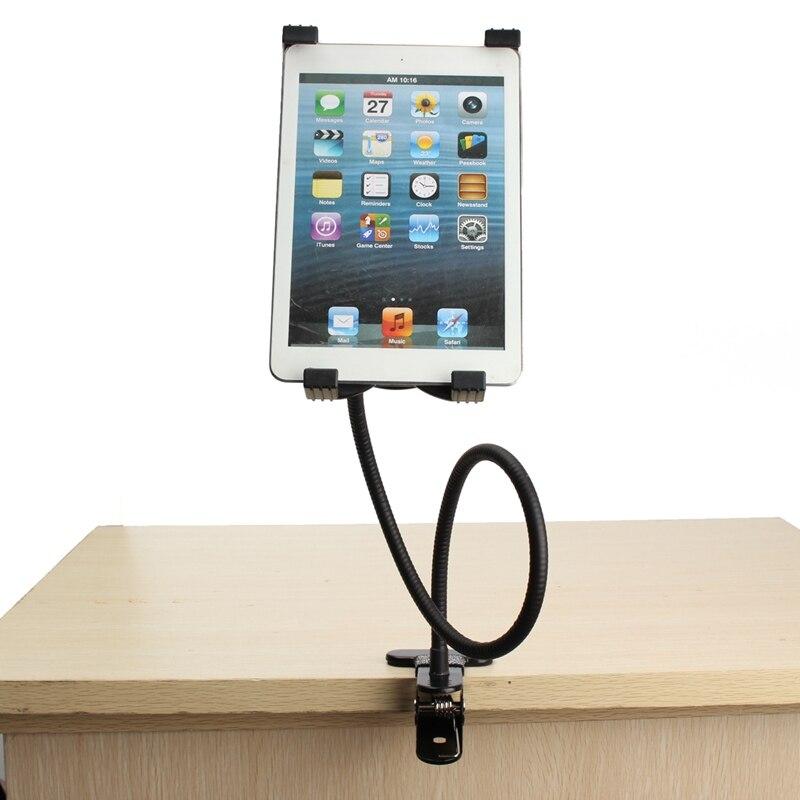 Brazo flexible de 360 grados Tablets soporte ajustable gooseneck Tablets PC ajustable Soportes de Tablet Mount Holder para IPad teléfono