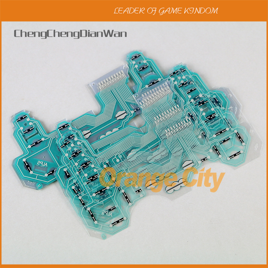 ChengChengDianWan SA1Q194A Controller Conductive Film Conducting Film Keypad Flex Cable For PS3 Controller 2pcs/lot