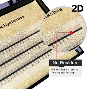 Image 2 - 50 cases NAGARAKU Eyelash Extensions 2D 6D Premade Volume EyeLashes false eyelashes 0.07mm C curl soft and natural faux Mink