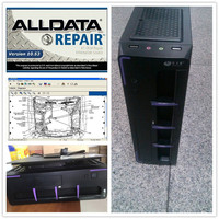 All data Auto repair software V10.53 Alldata and Mithcell software 2015 in 2TB Harddisk installed Mini computer ready to work