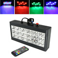 18 LED Strobe Effetto di Fase di Illuminazione RGB Suono di Controllo Remoto per la Discoteca del DJ Bar Del Partito di Festa Di Natale Flash Suono Attivo luce