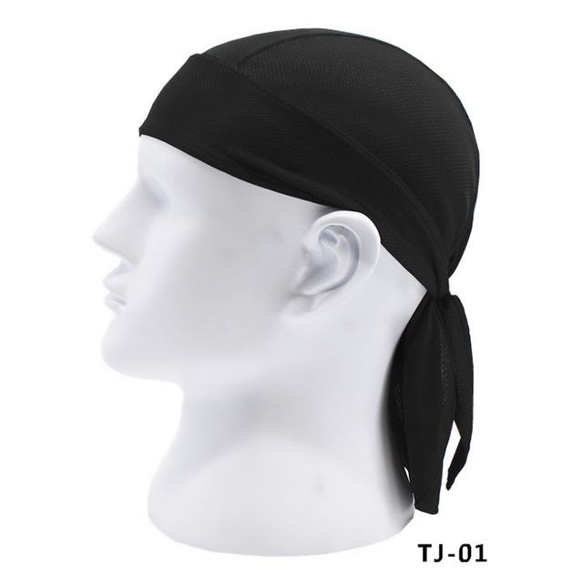 728c2c10add302 Men Fashion Quick Dry Beanie Snood Hip Hop Caps Pirate Scarf Hat Turban  Workout Cycling Sports