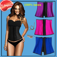 Plus Size Waist Training Corsets Xs Women Gaine Sport Latex Waist Cincher Bustier Corset Steampunk Latex