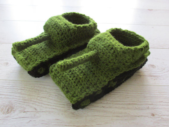 Tank Slippers Valentines Gift Valentines Day Gift Baby Shoes In
