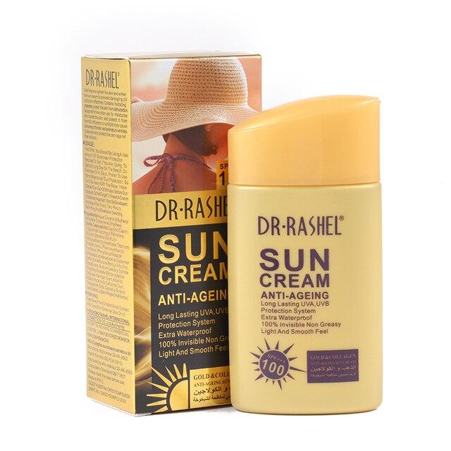 DR Rashel Or Anti vieillissement crème solaire blanchissant UV ...