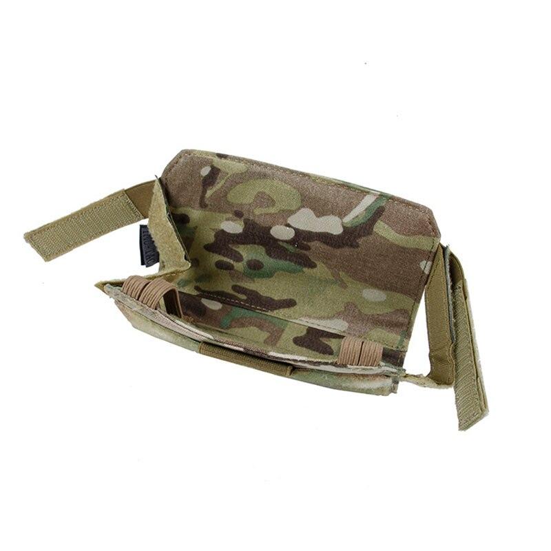Gilet tactique CPC JPC AVS spécial panneau avant fixation sac de téléphone portable Multicam TMC MT pochette d'administration