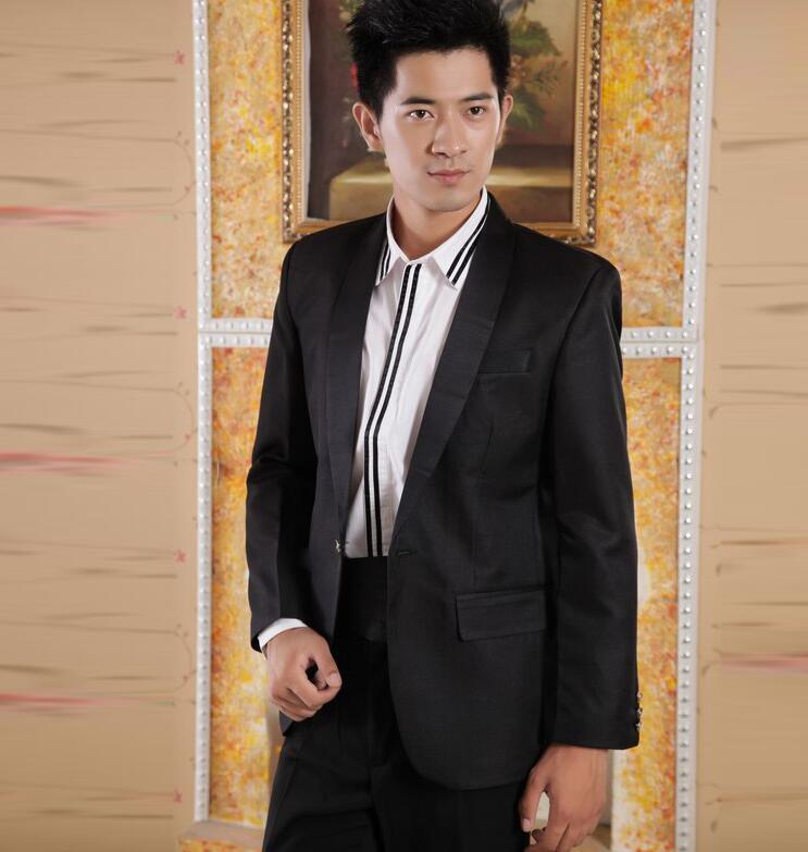 Manteau Masculino Noir Chorus Pour Pantalon Costumes Noir Mode De Designs Garçons Marié Mariage Blazer Slim blanc Hommes Bal Dernières Blanc PnwxPOW
