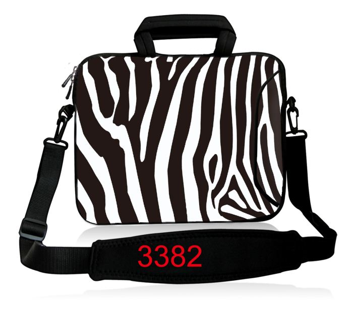 Zebra 2017 New Laptop Shoulder bag Notebook Case Handlebag Pouch For Macbook Air Pro Retina 11/12/13/15 Inch Men Women