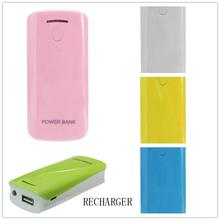 High Recommend DIY 2*18650 Battery Power Bank Charger Box For iPhone Smartphone