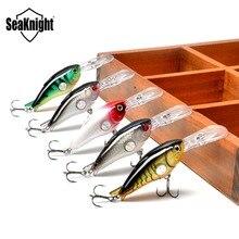 SeaKnight SK003 Crankbait 55mm 10g 1.8-3.9M 5Pcs Hard Fishing Lures Floating Wobblers Crank Hard Bait Sea Carp Fishing Lure Set