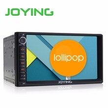 """Joying 7 """"doble 2 Din Android 5.1 Piruleta de Radio de Coche Universal Quad Core 1024*600 HD Navegación GPS Del Coche Mejor Unidad Principal Del Coche PC"""