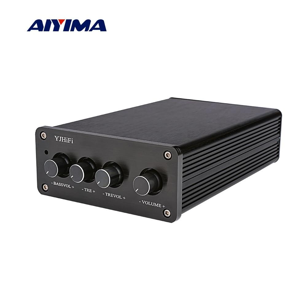 AIYIMA 2 1 Mini Audio Power Amplifier Board Class D Home Subwoofer Amplifiers 150WX2 300W HIFI