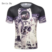 New Fashion Men 3d T-shirt Print Watercolor Skulls And Little Dinosaurs Men T Shirt Summer Tops Tees Plus 3XL 4XL wholesale