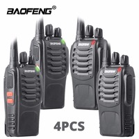 6 Pieces BAOFENG BF 888S UHF 400 470MHz 5W Two Way Radio Walkie Talkie Portable Professional