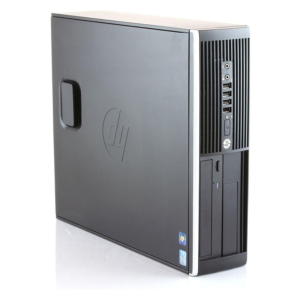 Hp Elite 8300 - Ordenador De Sobremesa (i5-3470, 8GB  RAM, SSD  240GB,  DVD, Windows 10 PRO) - Negro (Reacondicionado)