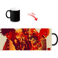 ONE PUNCH-MAN printed color changing mugs home porcelain tea milk cup personalized ceramic water coffee morph mug 12oz 4