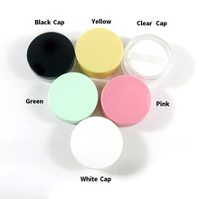 1 X 5g Empty Loose Powder Box Jar With Sifter Powder puff Case Facial Blush Container Eyeshadow Cosmetic Jars 30g for cream 10ml empty loose powder jars with mirror powder puff black diy make up powder compact cosmetic packing container free shipping