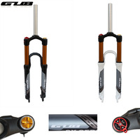 GUB GX 32 Magnesium Aluminum Alloy Bicycle Front Fork Bike Front Shock 26 27 5 Bicycle