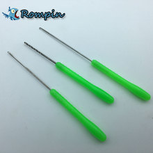 Rompin Hot Sale 3 in 1 Combo Set Carp Fishing Rigging Bait Needle Kit Tool Set Fish Drill Tackle Rigging Tool Kit With Pouch