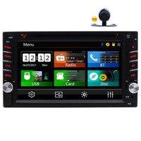 Eincar двойной Din автомобильный стерео в тире FM/AM RDS радио головное устройство 6,2