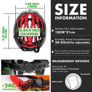 Image 5 - Quesharkプロフェッショナルメンズ · レディースエアーベントサイクリングヘルメット超軽量乗馬山道バイクヘルメット頭安全