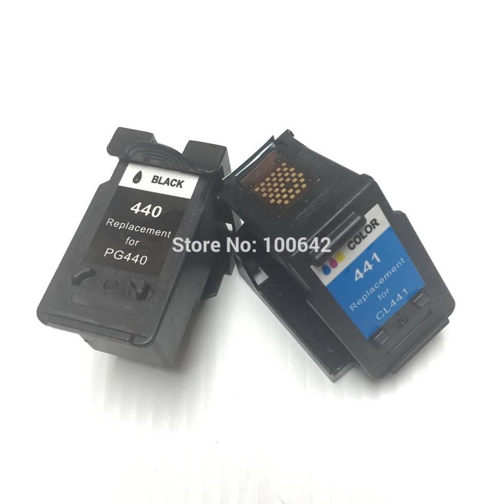 YOTAT 1set Obnovljena kartuša s črnilom PG440 CL441 PG-440 CL-441 - Pisarniška elektronika
