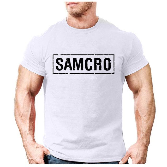 HOT SALE Samcro Cotton Short Sleeved Slim T-Shirts