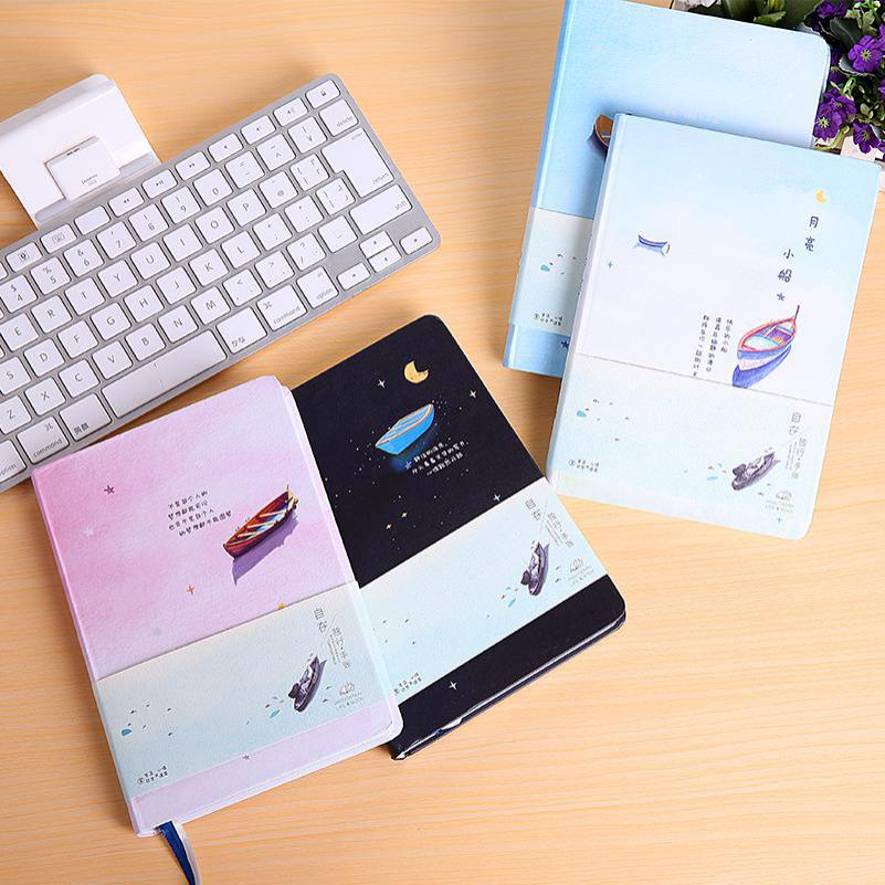 Jingu Feel Free Hardcover Notebooks And Journals Color Paper Daily Planner Trends Creative Gift Stationery Kids School Supplies jingu feel free hardcover notebooks and journals color paper daily planner trends kawaii stationery office