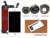 10 unids aaa/oem alibaba clon de china lcd para iphone 5c con pantalla táctil digitalizador asamblea + anillo de cámara, envío libre de dhl