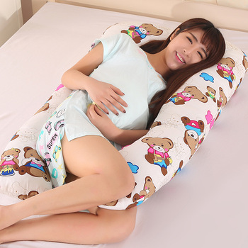 Sleeping Support Pillow For Pregnant Women Body Cotton U Shape Maternity Pillows Pregnancy Side Sleepers Nursing Cushion цена 2017