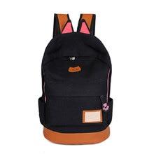 Женские сумки рюкзак девушка школа моды сумка рюкзак холст дорожные сумки Лидер продаж рюкзаки для девочек-подростков Mochila