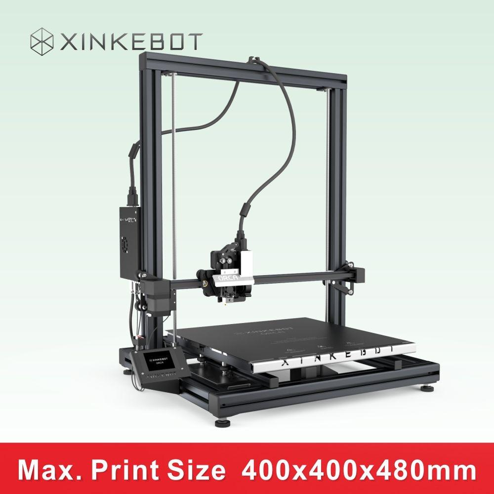 XINKEBOT 2016 Star Product Commercial Printer ORCA2 Cygnus Big Print Volume 400 400 450mm 1kg Temp